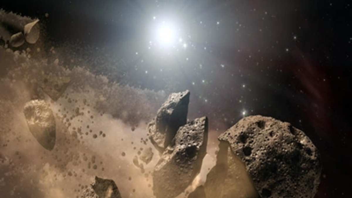 Asteroid collision sparked biodiversity on our planet
