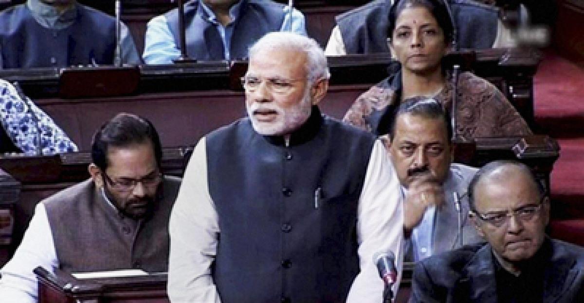 Opposition stalls proceedings in Rajya Sabha, demands PM Modi make statement