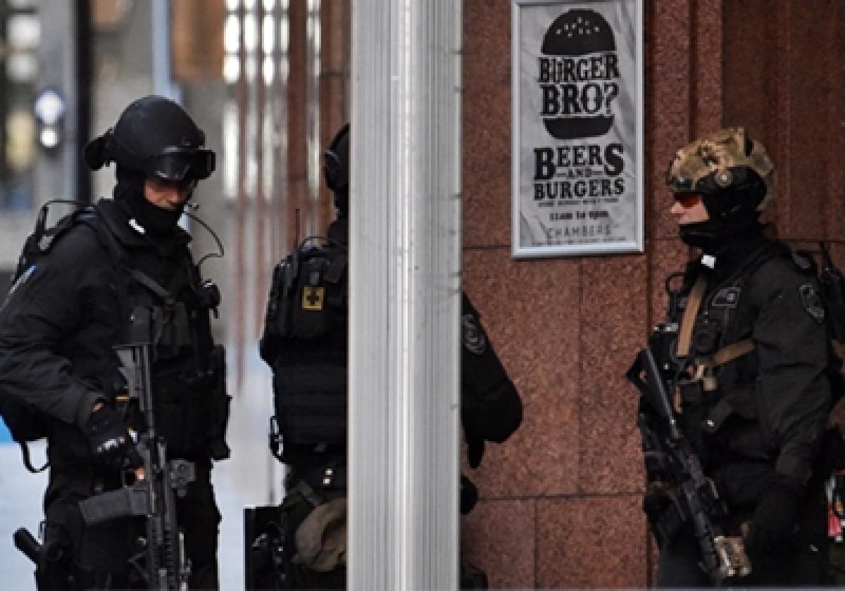 Anti-Muslim protest at Sydney siege site