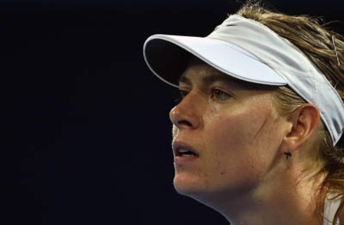 Sharapova slams media, clarifies her case via fb post