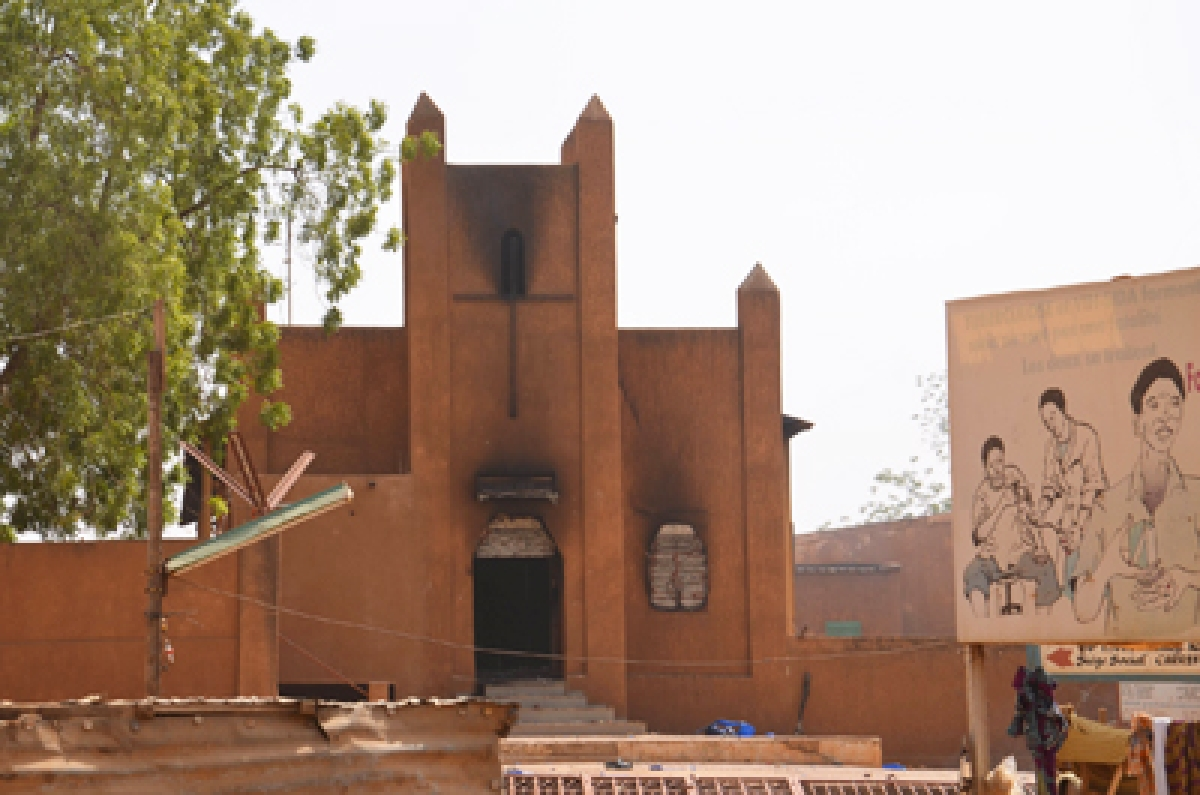 Protests Erupt In Niger, Churches Burnt