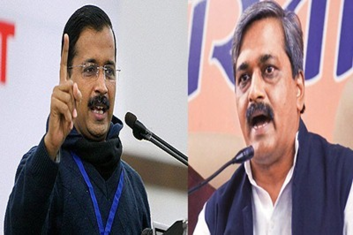 Satish Upadhyay says Arvind Kejriwal should apologise for lying to Delhi
