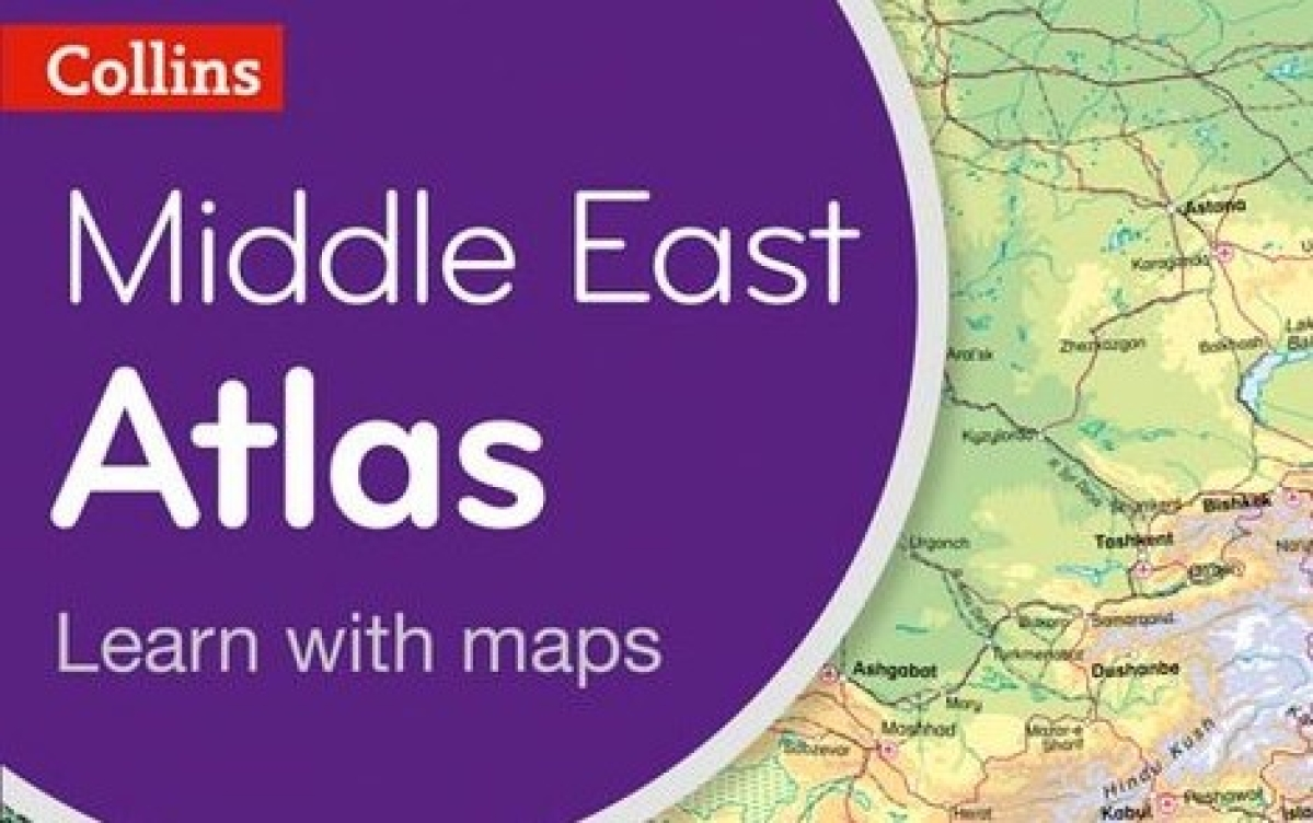 Harper Collins apologizes for not including Israel in Middle East Atlas