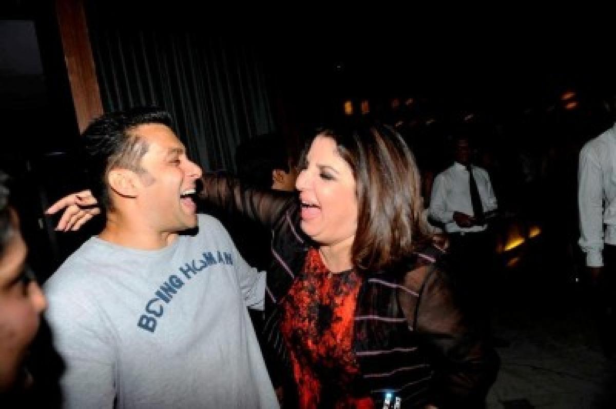 Farah Khan gets tips from Salman Khan to host 'Bigg Boss Halla Bol'