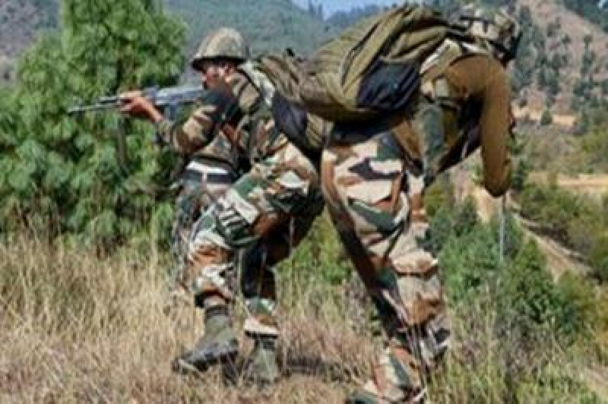 Troopers fire on Pakistan border