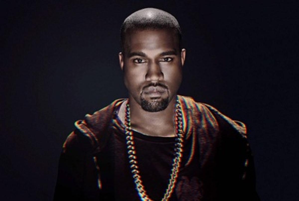 Kanye West sells church clothes at Coachella