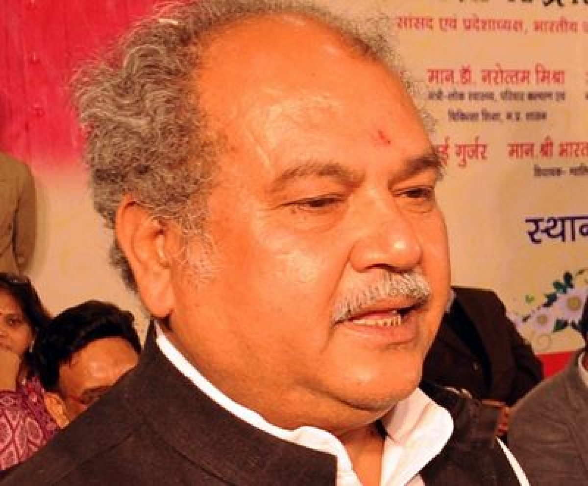 Both Mining And Steel Sector Will Look Up In 2015: Narendra Singh Tomar