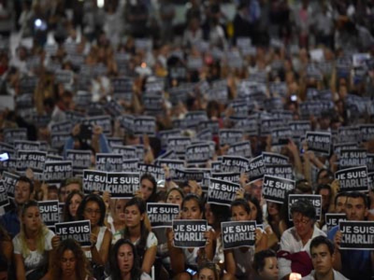Cartoonists Show Solidarity for Charlie Hebdo