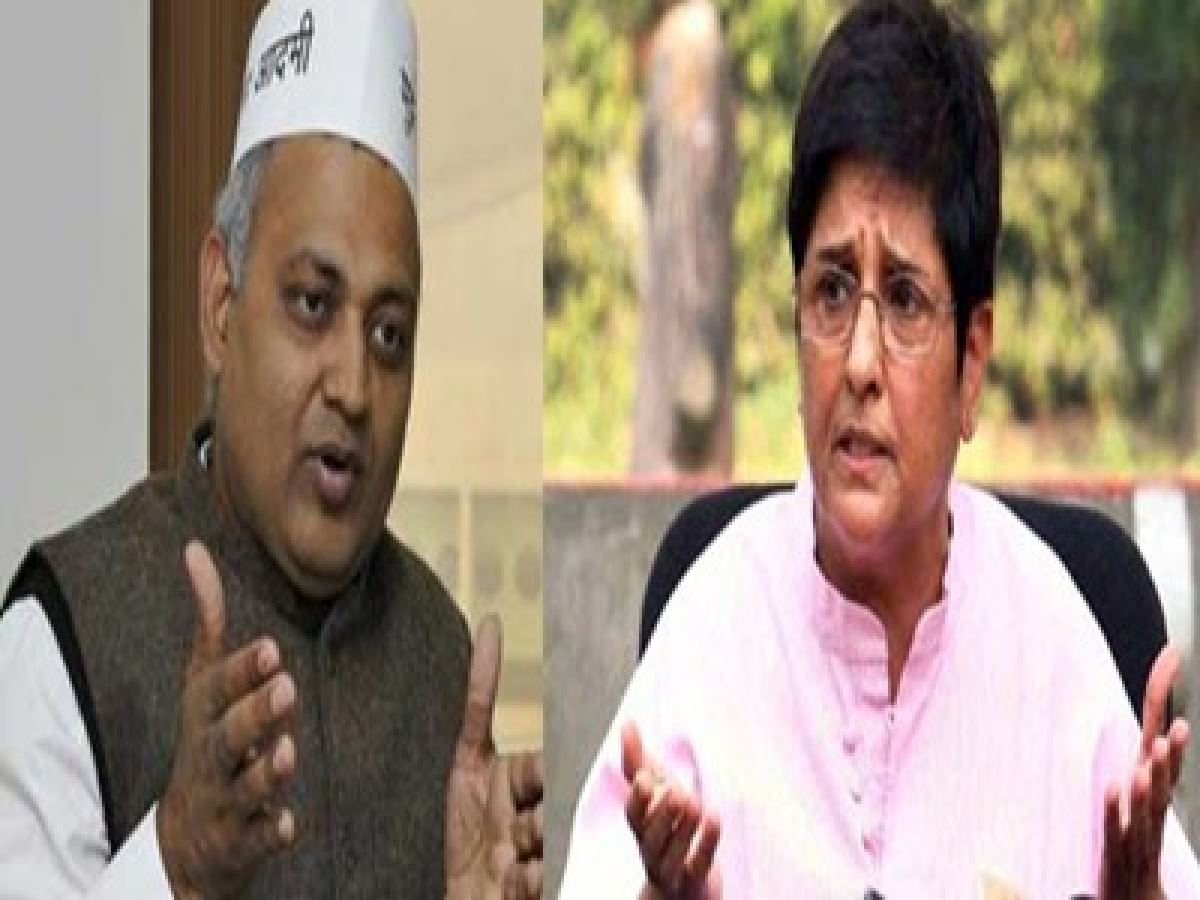 BJP will make Bedi a scapegoat in case of a defeat: AAP