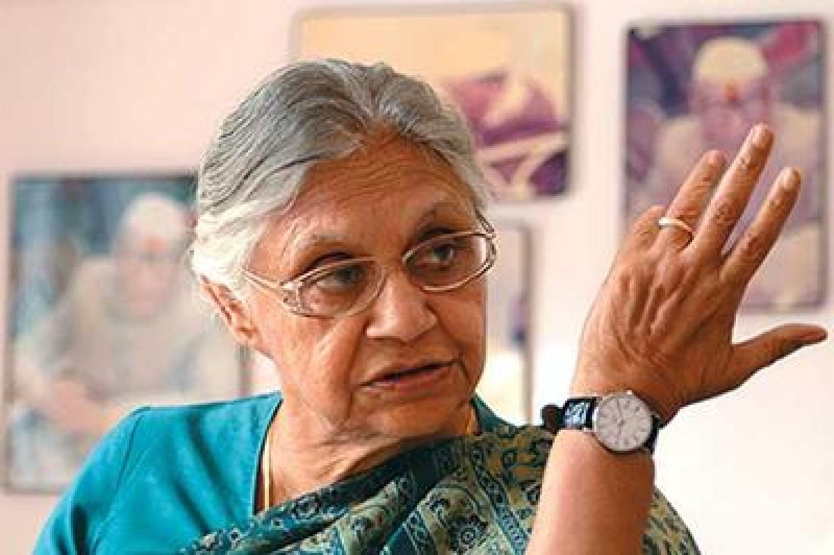AAP 'encouraging theft' by promising freebies like free water: Shiela Dikshit