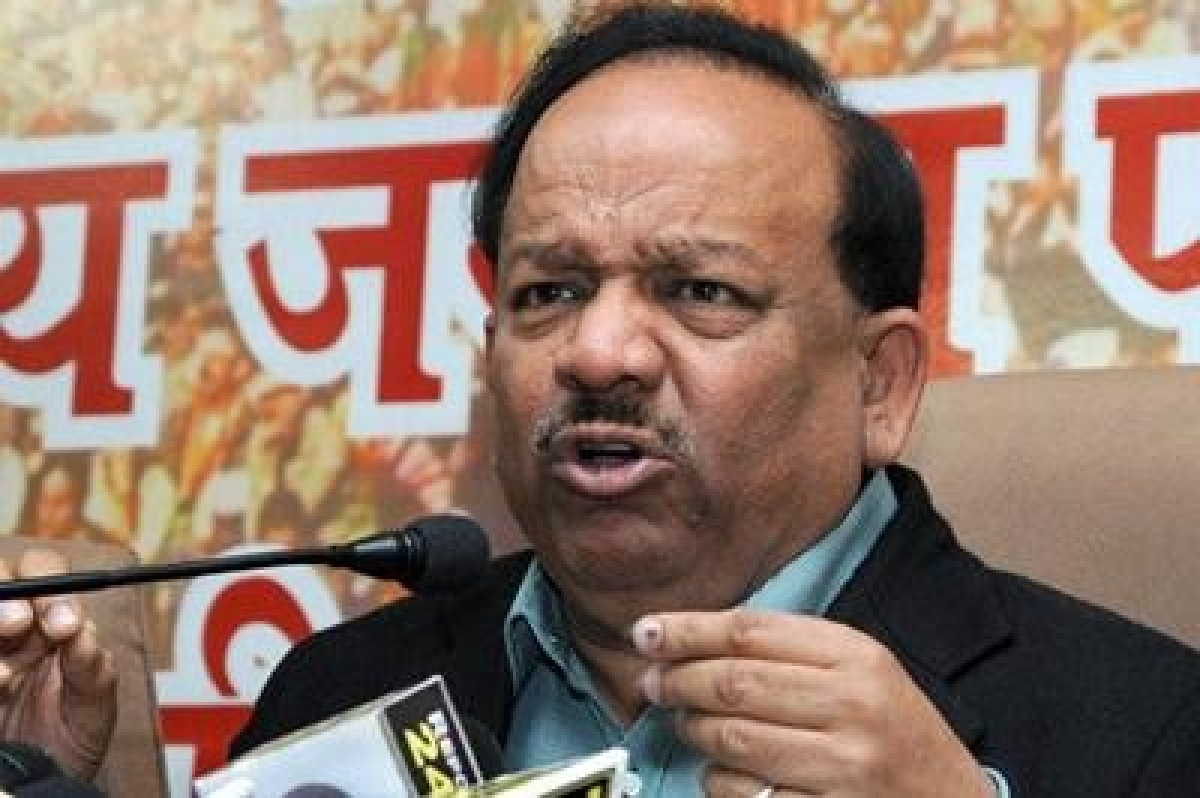Harsh Vardhan confident of BJP's win in Delhi