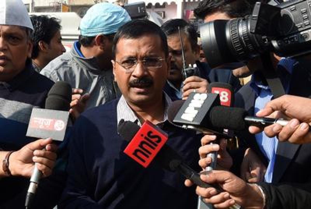 Ramlila Maidan spruced up for Kejriwal