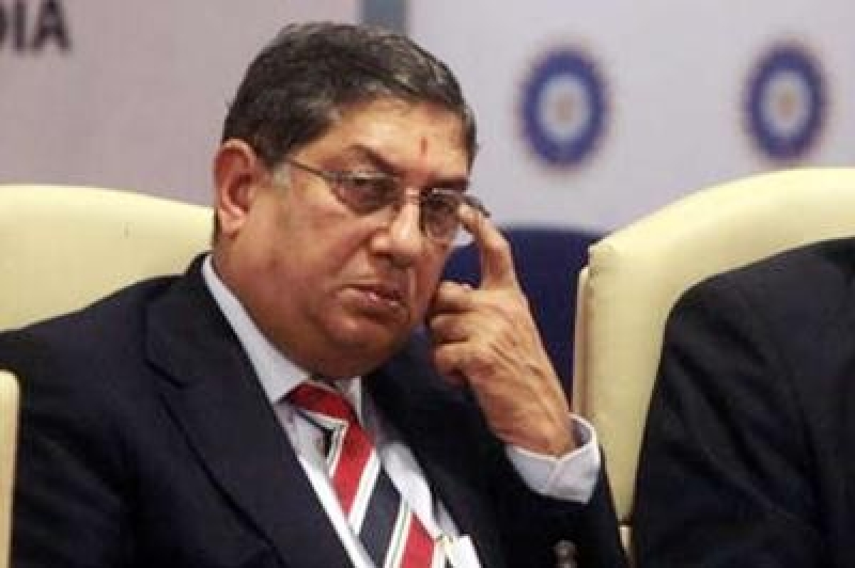 SC declines plea to recall verdict barring Srinivasan from BCCI poll