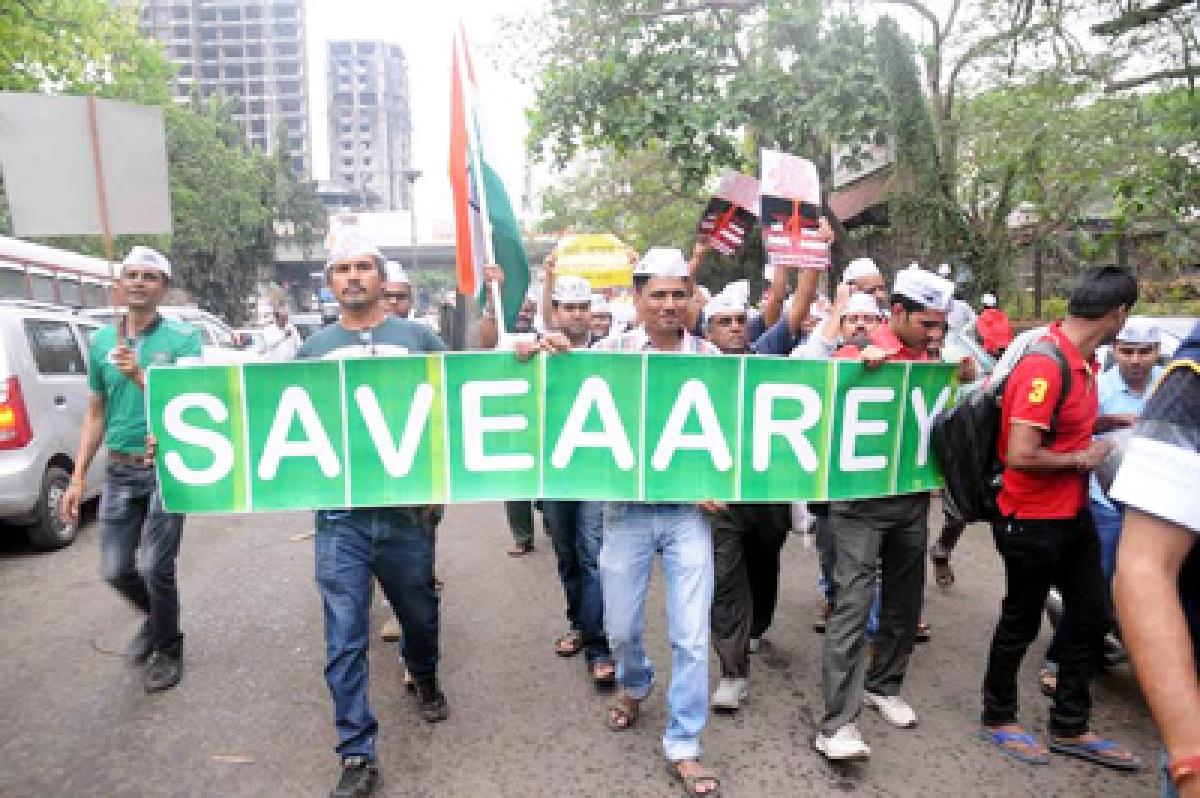 Now, AAP Joins 'Save Aarey' Bangwagon
