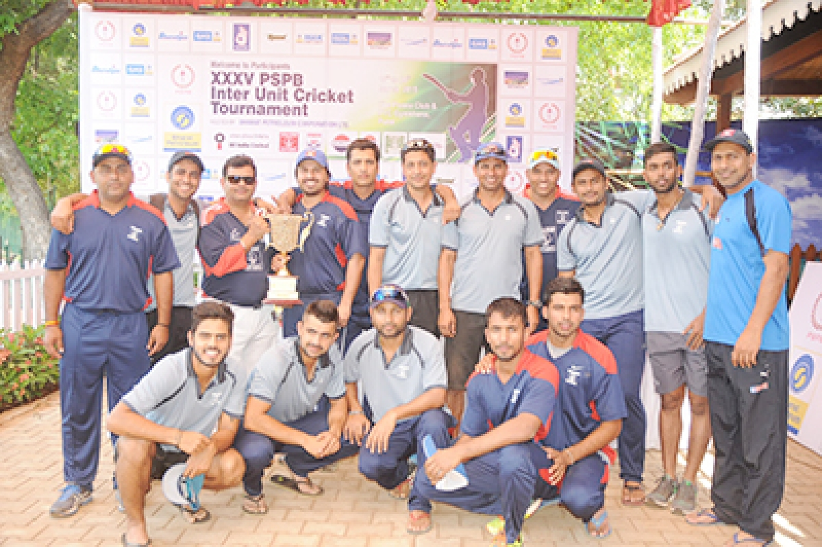 Team ONGC sweeps Inter Unit Cricket title