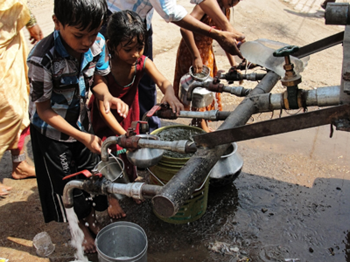 Finally, BMC To Provide Newer Slums With Water