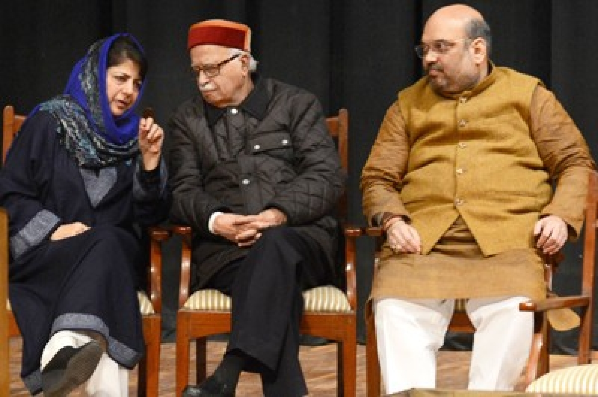 Ram Madhav to finalise J&K government formation with Mehbooba
