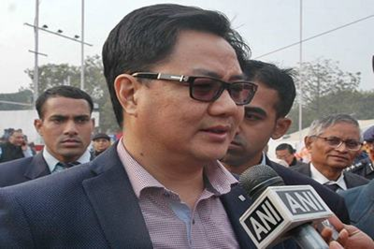 Government not protecting tainted ministers: Kiren Rijiju