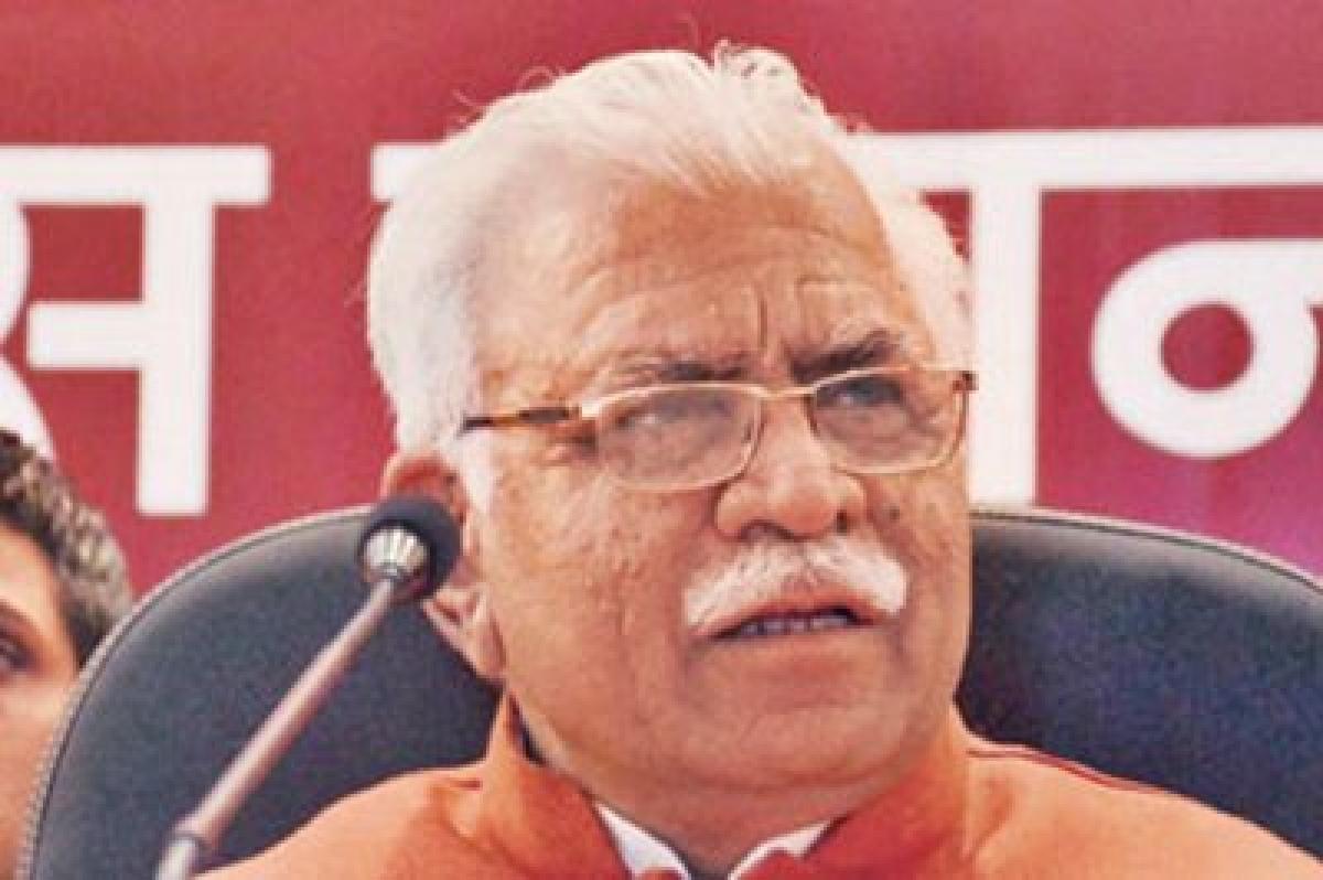 M.L.Khattar asks for FIR in pedestrian run-over case