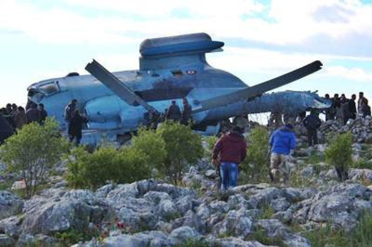 Air Force chopper crashes; crew bailed out near Suratgarh