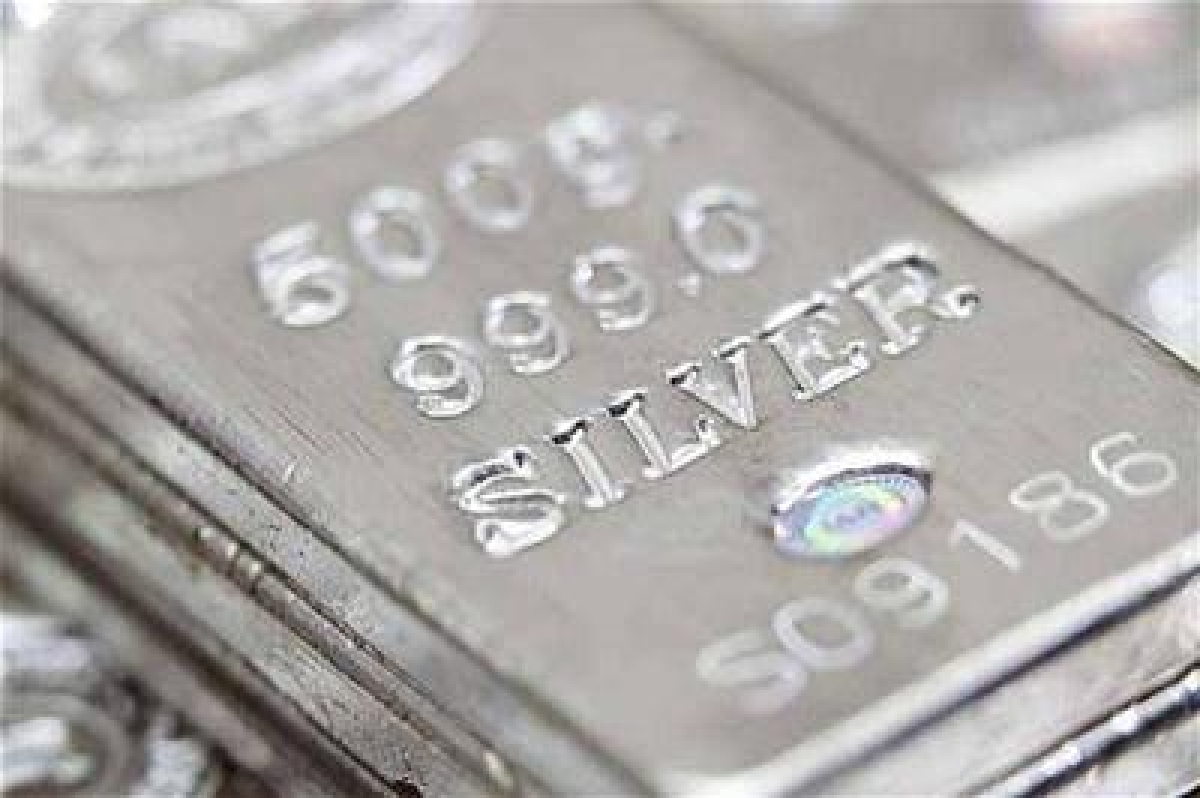 Silver futures rise 0.53% on global cues
