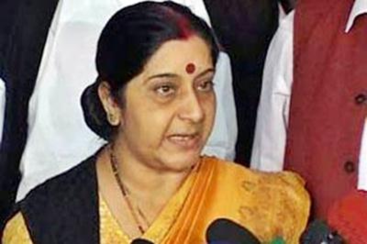 Sushma Swaraj reacts angrily to Twitter insinuation