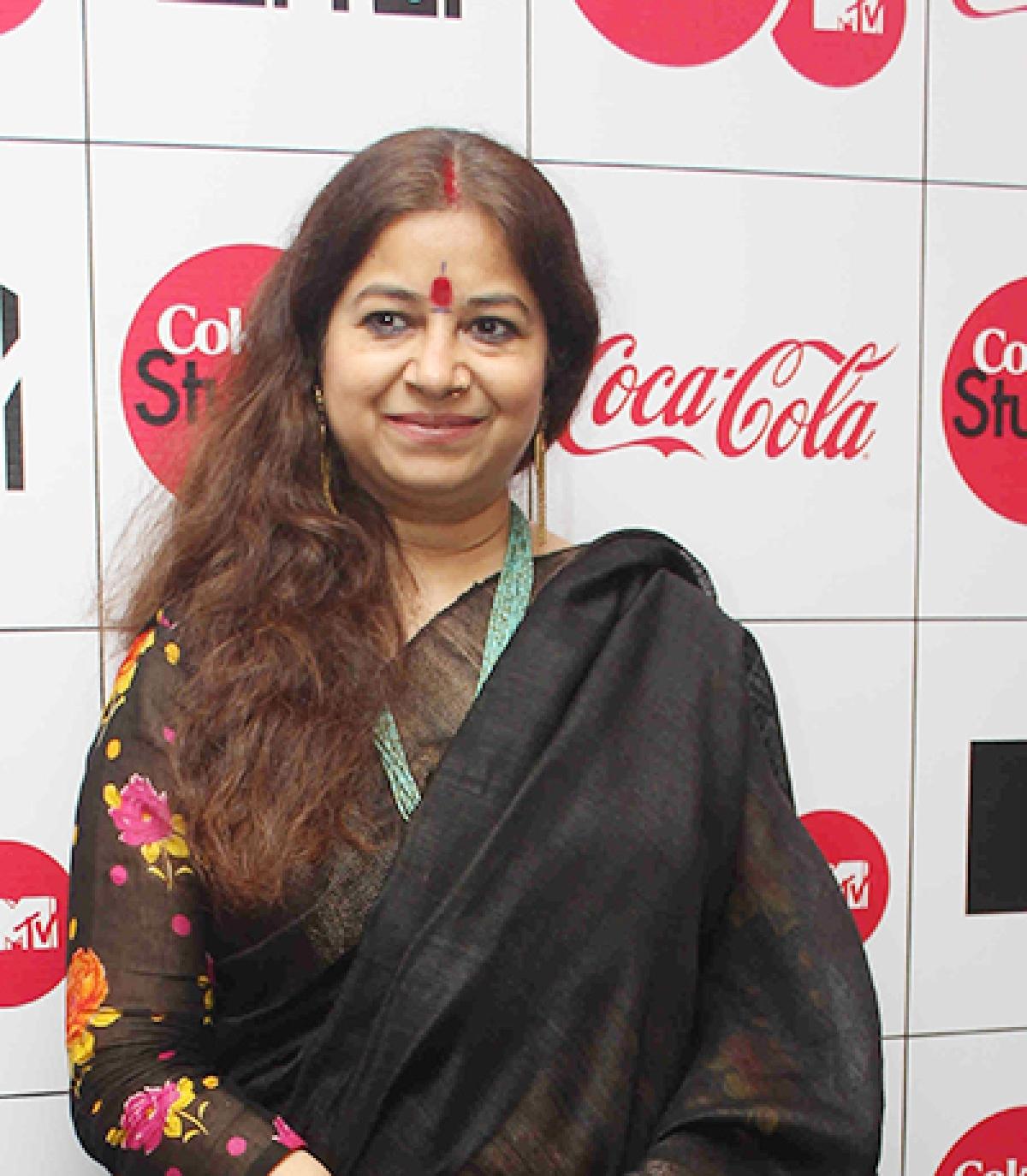 Rekha Bharadwaj supports a social issue