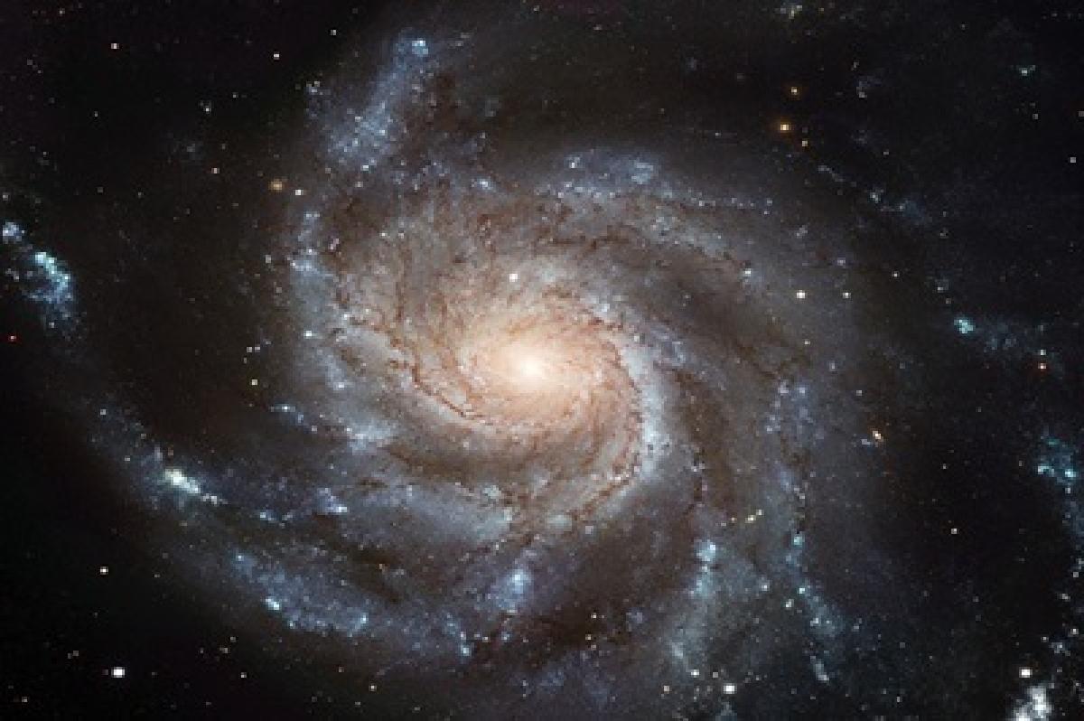 Massive dark matter found in nearby galaxy