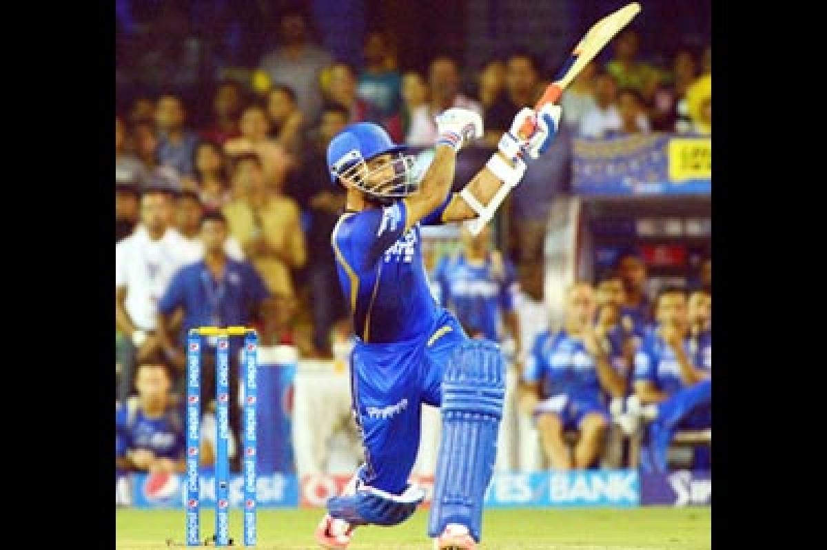 I could not sleep after my shot against Mumbai Indians : Ajinkya Rahane