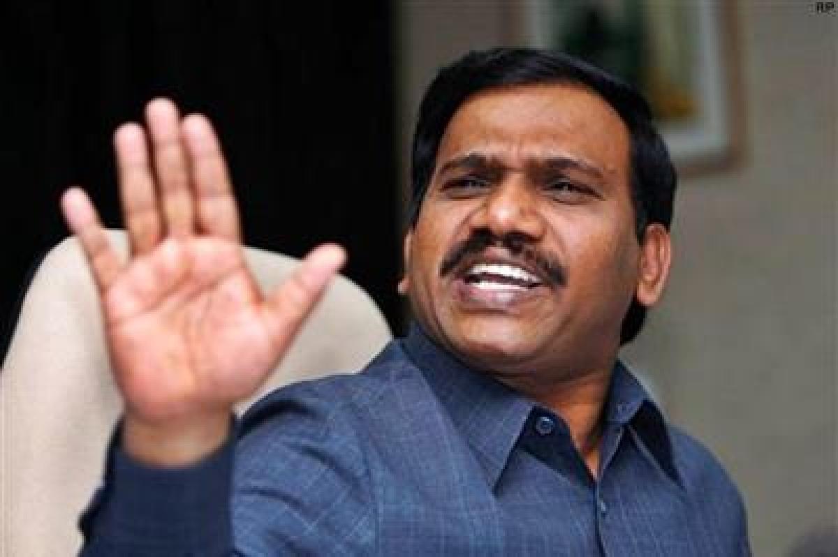 CBI registers Disproportionate Assets case against Raja