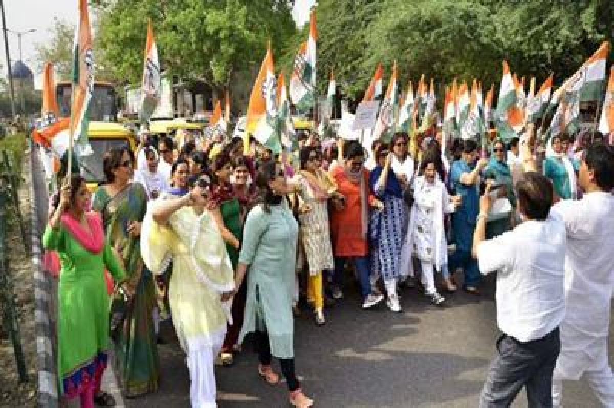 Congress pulling out all stops for farmers' rally