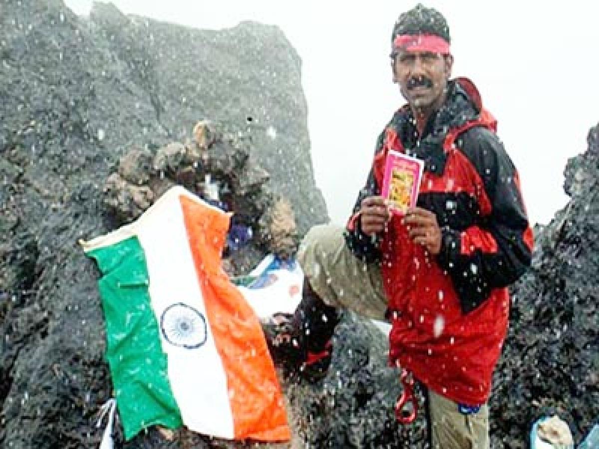 Missing mountaineer Mastan Babu found dead