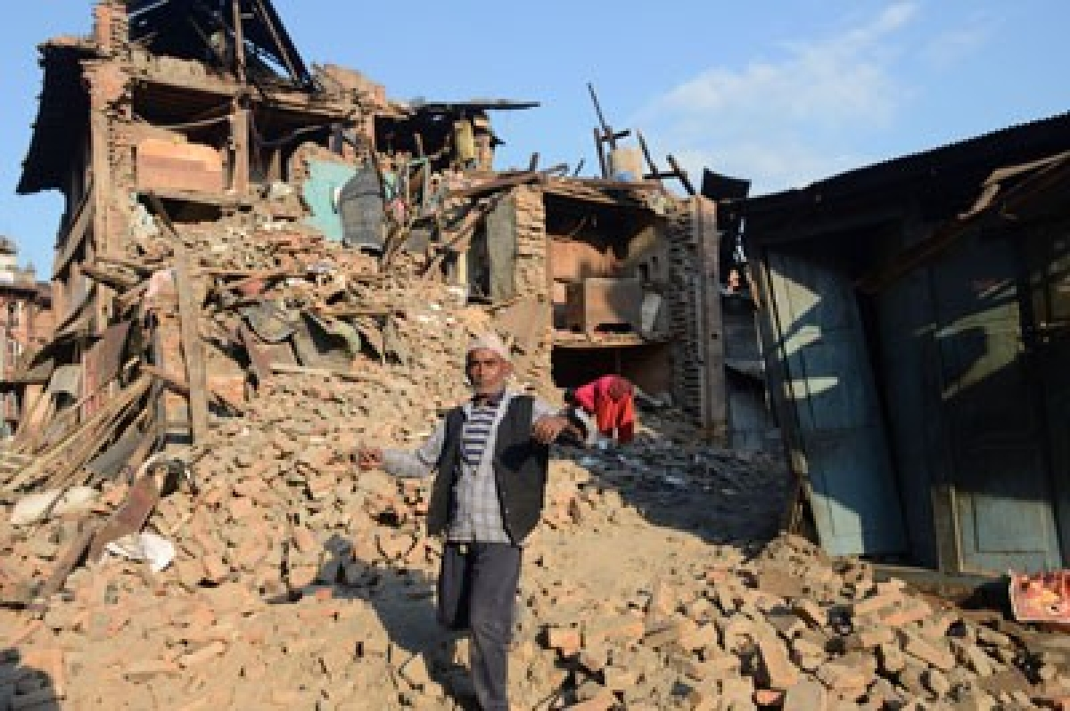 Major earthquake jolts Nepal