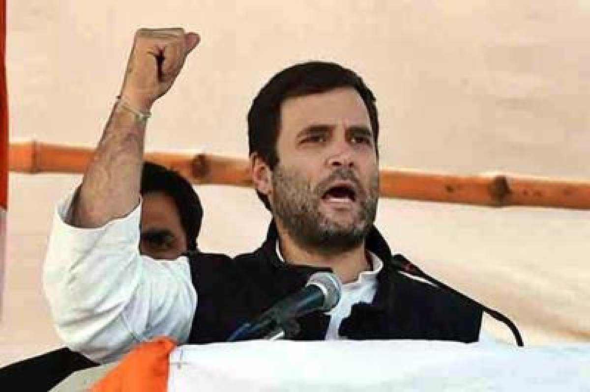 Attack me, spare the poor: Rahul Gandhi tells PM Modi