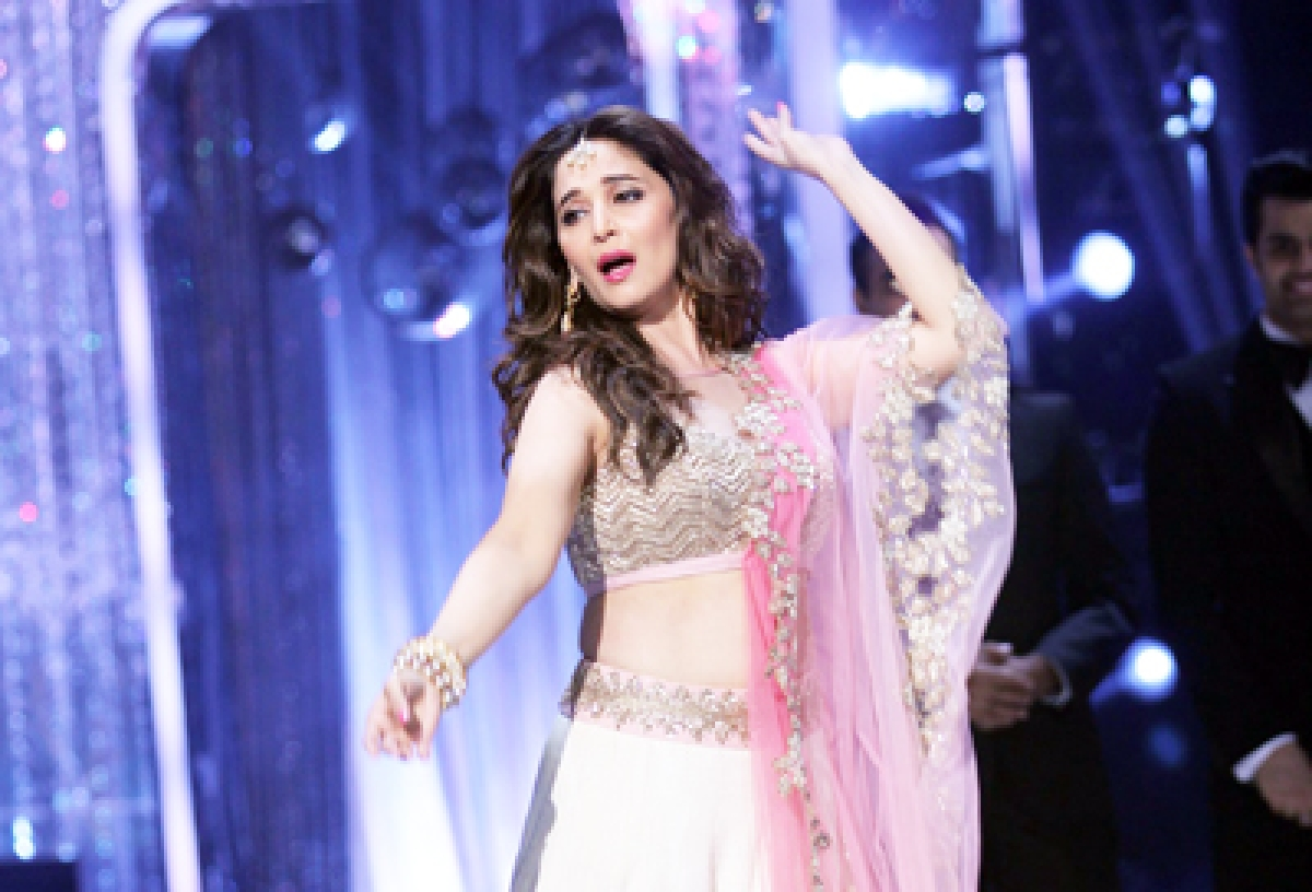 Madhuri Dixit, Terence Lewis team up for a dance fest