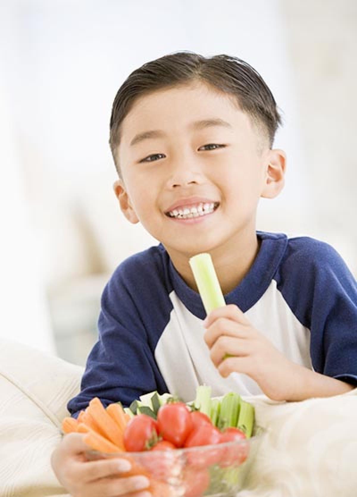 Smileys make kids eat healthy