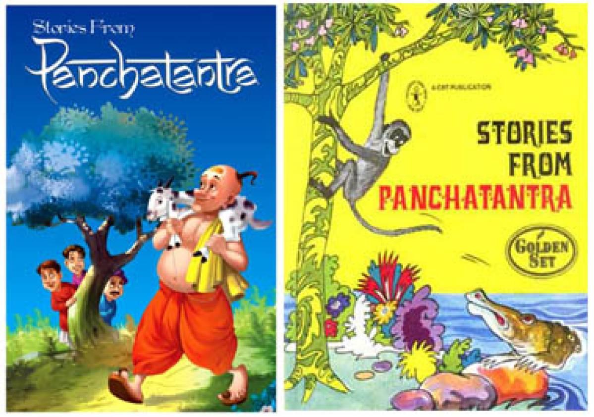 Panchtantra and Vishnu Sharma