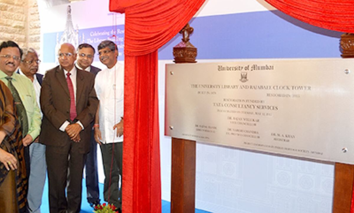 Welukar's swan song: To open Rajabai tower for public view
