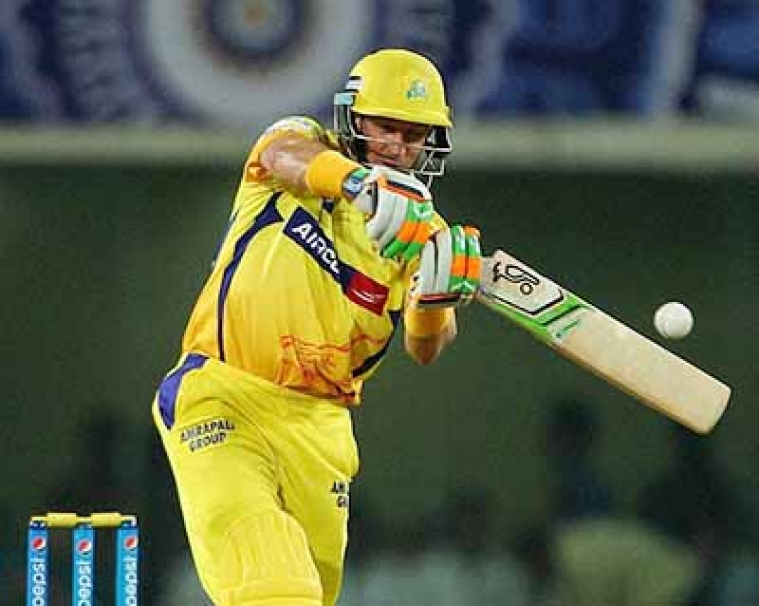 Chennai emerge super  kings against Bangalore