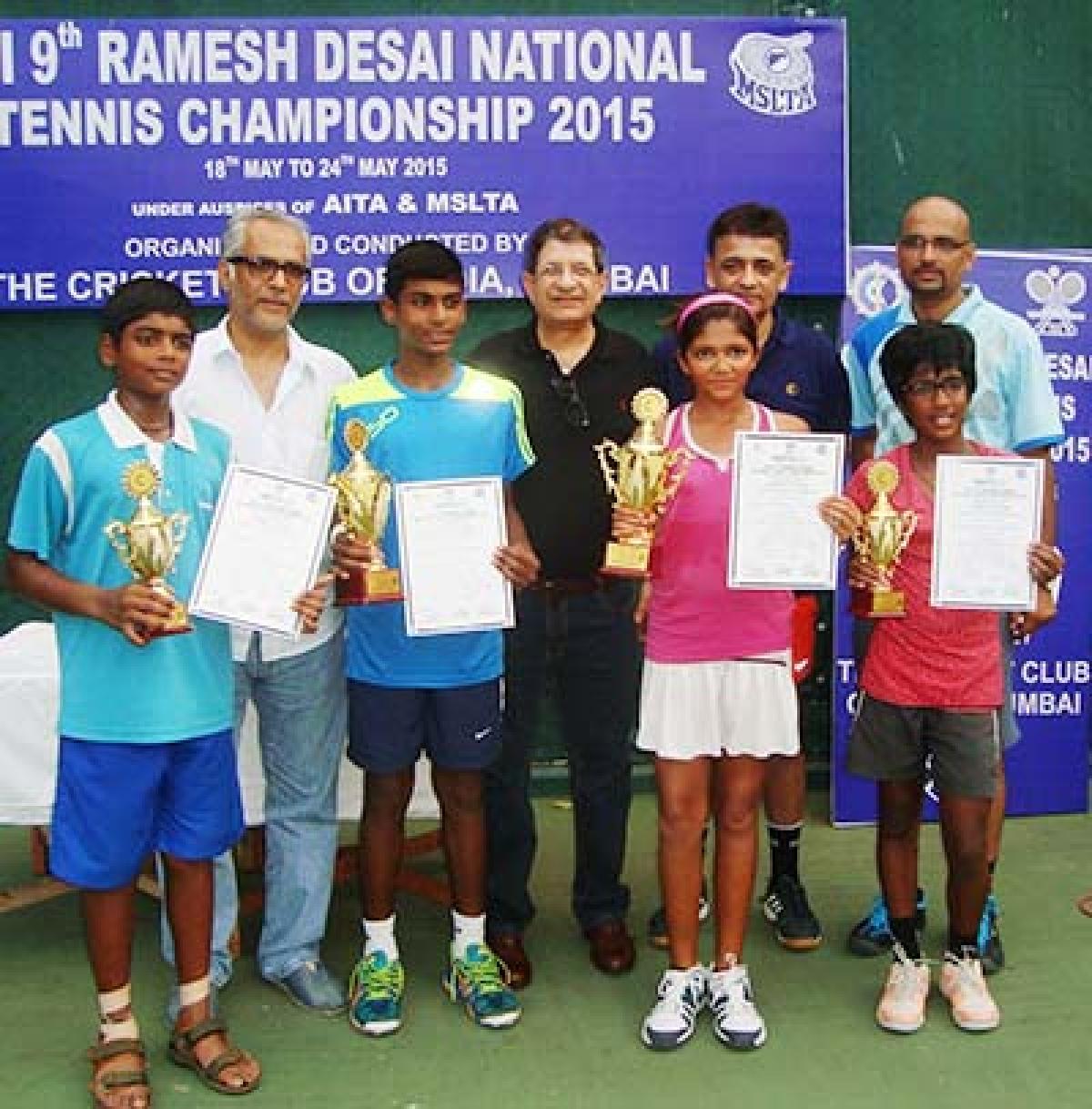 Milika claims national tennis title