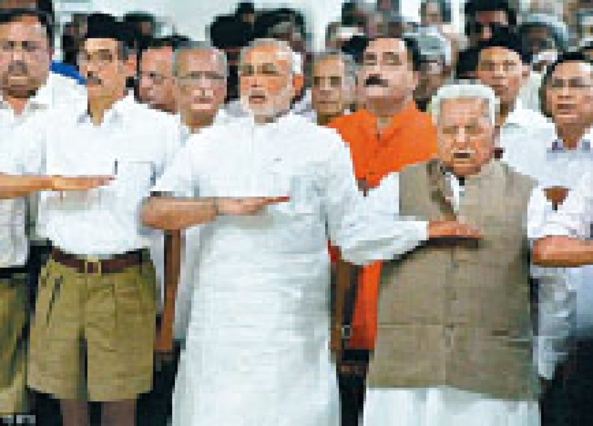RSS cries foul over move to elevate 'Modi-baiters'