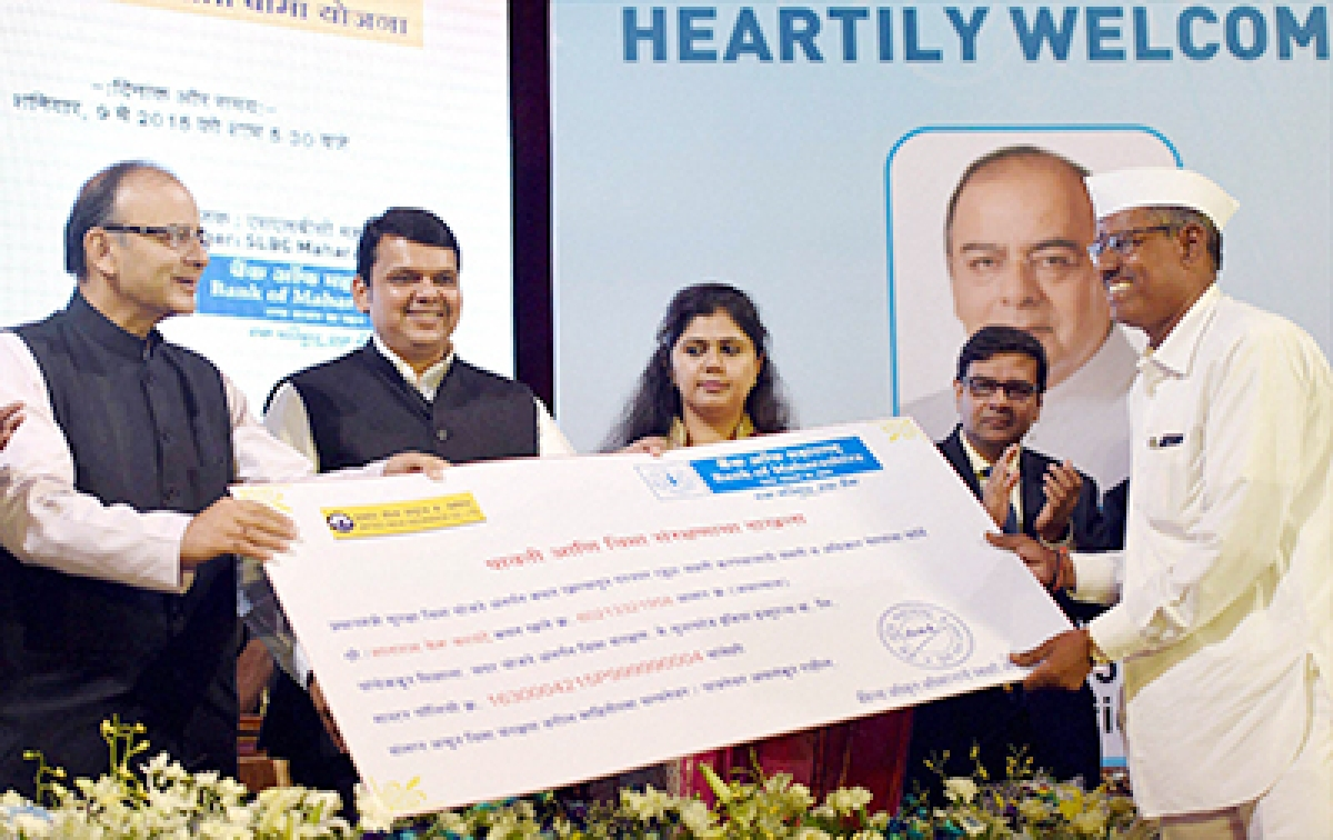 Jaitley launches 3 new social security schemes