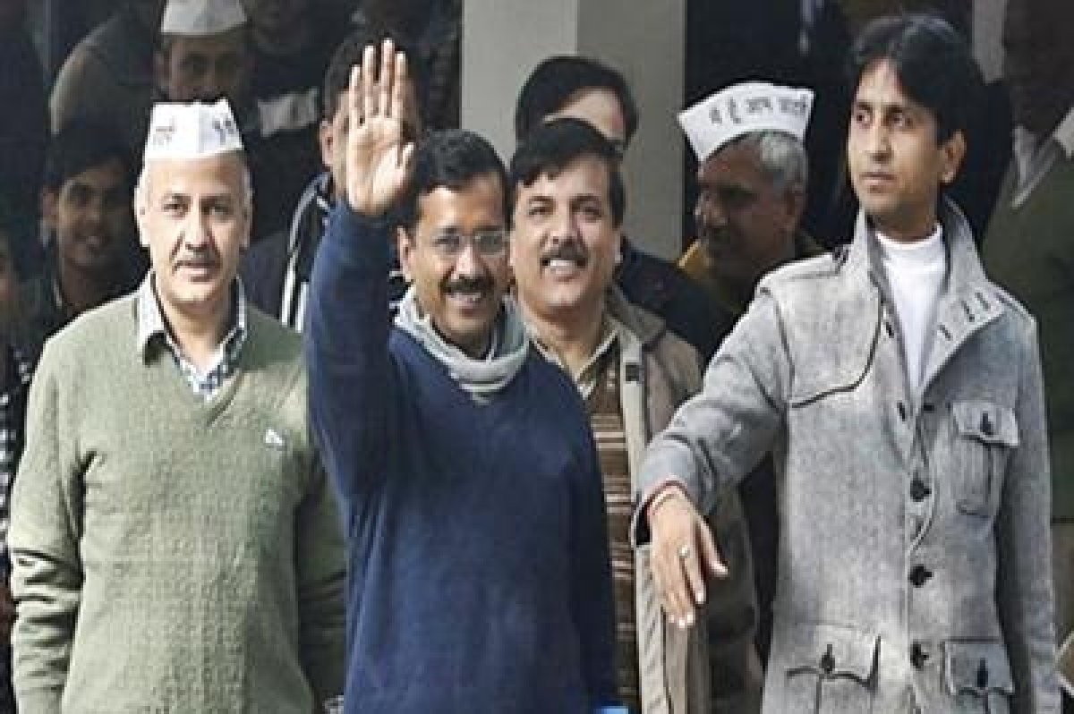 AAP to hold 'Jan Samvad' to celebrate 100 days of Kejriwal Govt