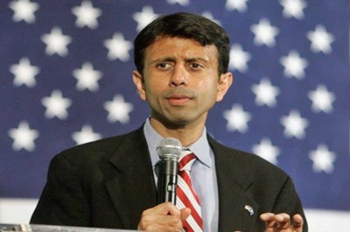 Bobby Jindal clashes with Republican rival over health care