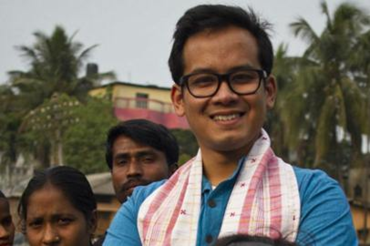 Gogoi junior shrugs off exit poll predictions, assures victory for Cong