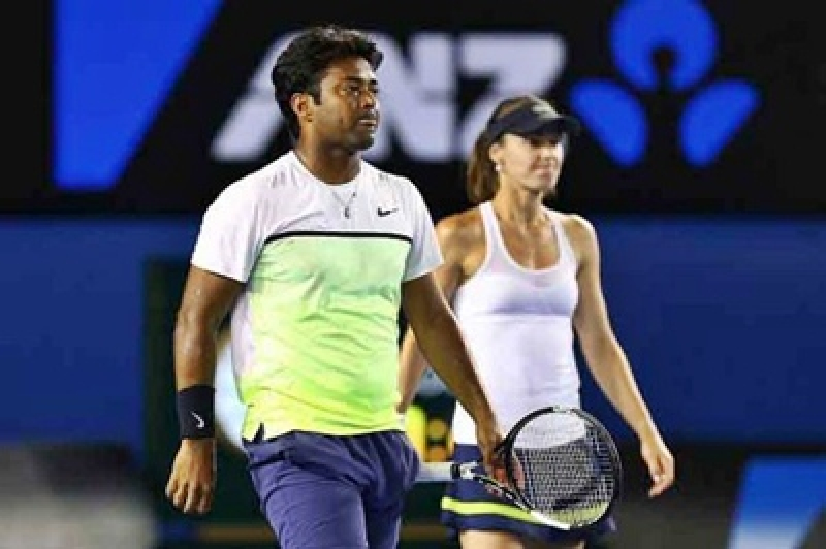 Leander Paes – Martina Hingis knocked out of French Open