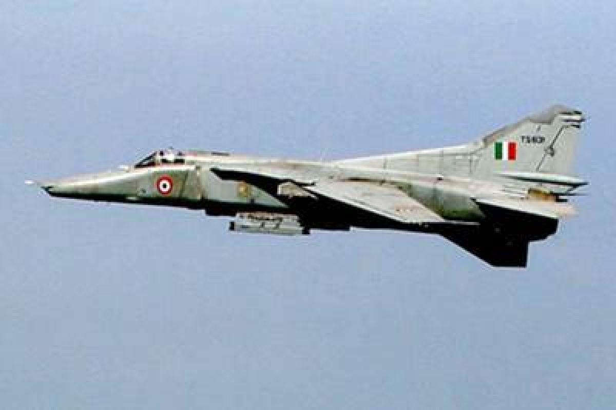 No civilian casualties in MiG 27 crash in West Bengal: IAF