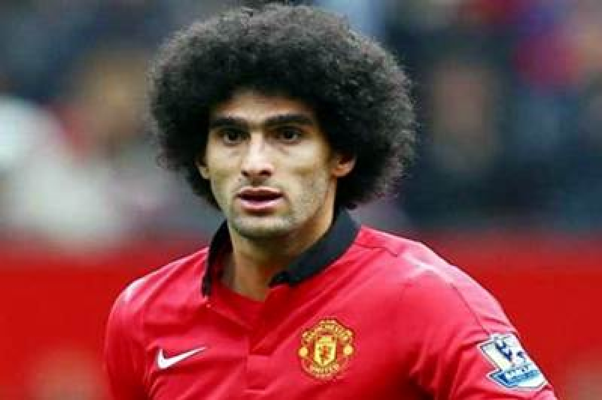 Marouane Fellaini says Van Gaal fines Man U players for being late for lunch
