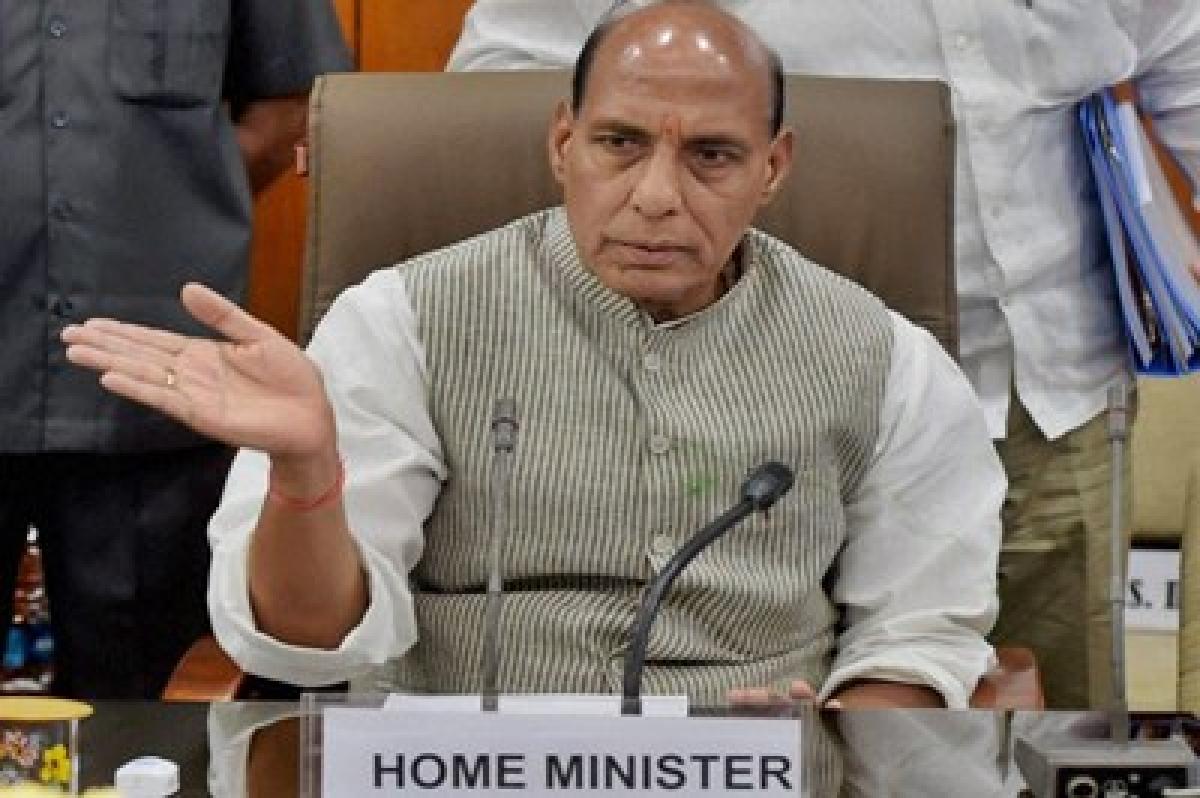 Rajnath Singh launches social security schemes