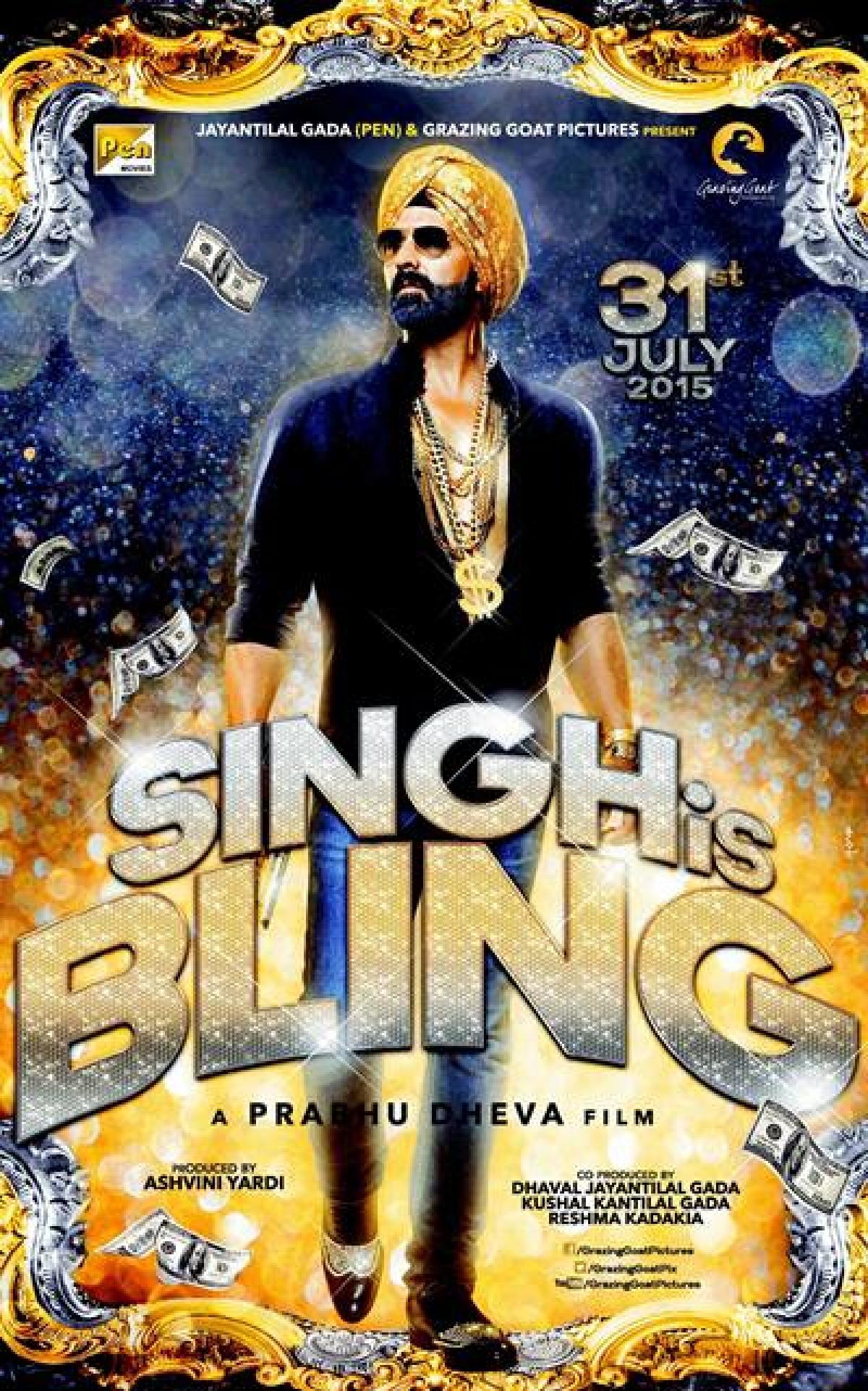 Prabhudheva nervous about 'Singh is Bling'